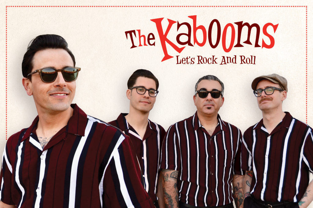 The Kabooms en La Cachorra yeyé
