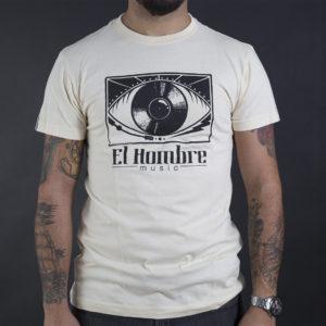 Camiseta El Hombre Crema por delante color crema