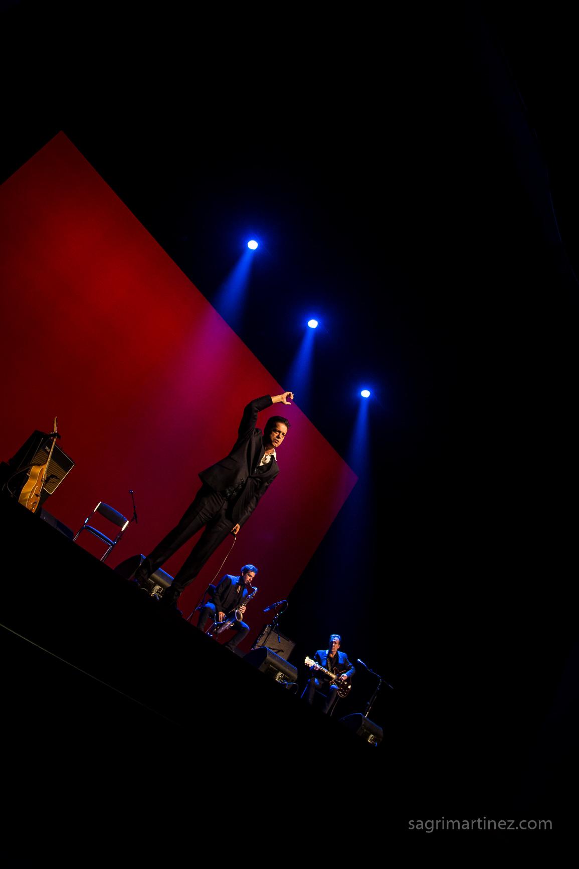 Santiago Auserón en el Teatro Circo