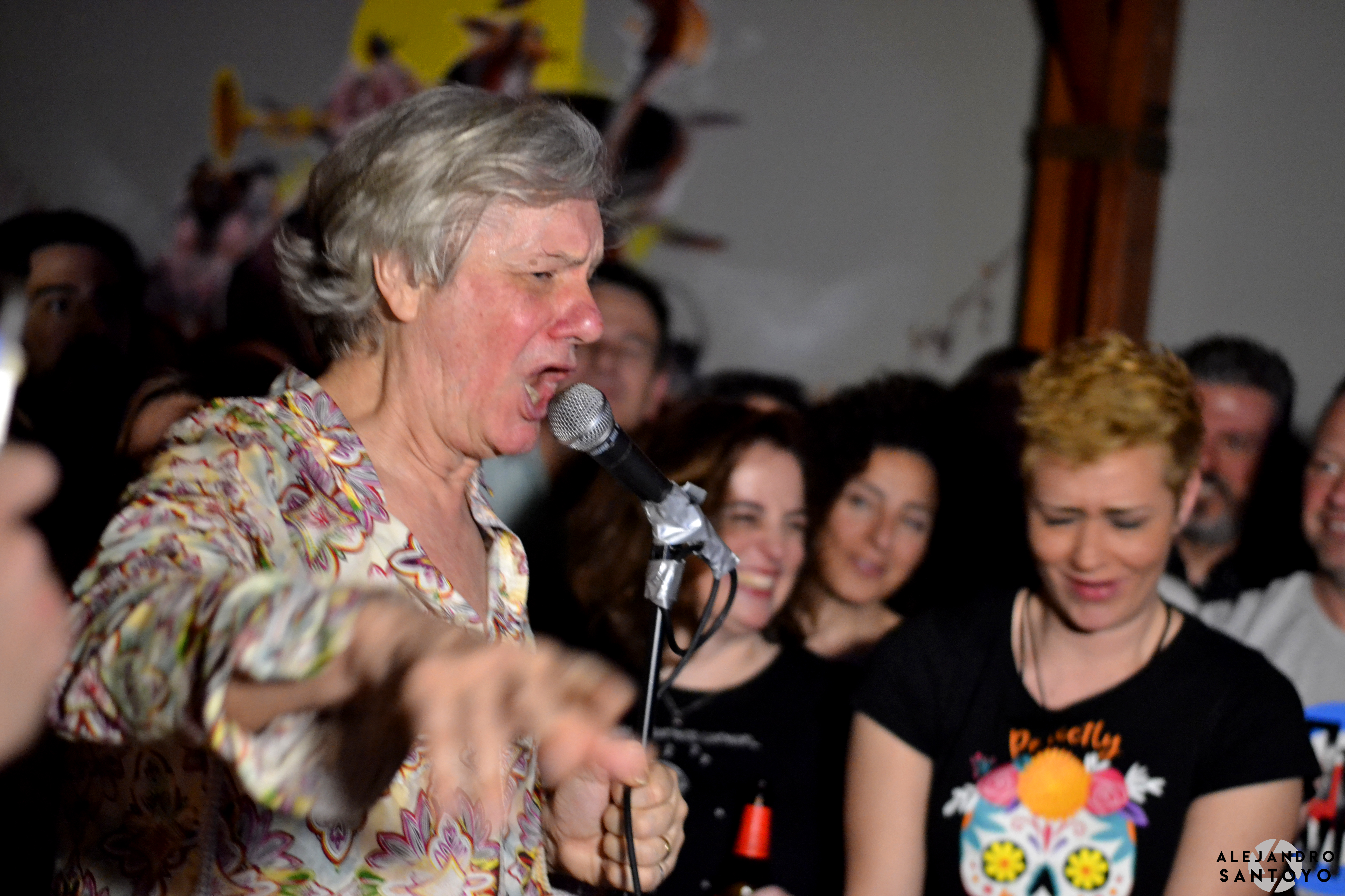 The Fleshtones en La Cachorra yeyé
