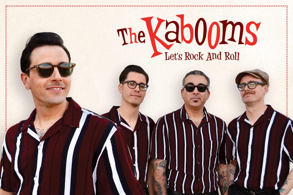 The Kabooms en La Cachorra yeyé