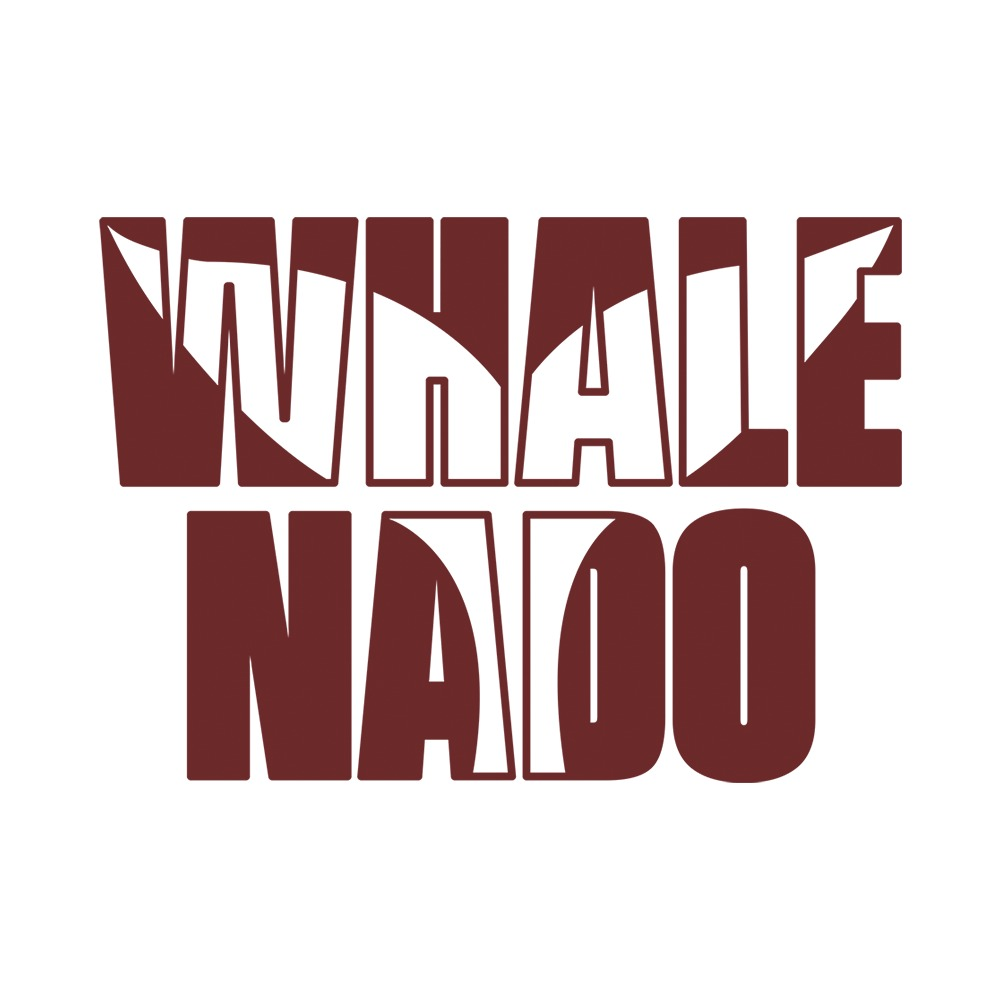 Whale Nado Logo burdeos